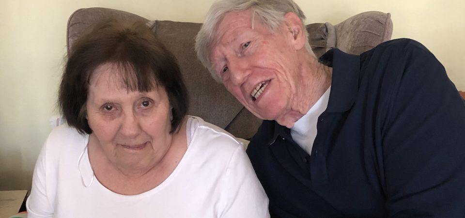 Couple celebrates 65th Valentine's Day together