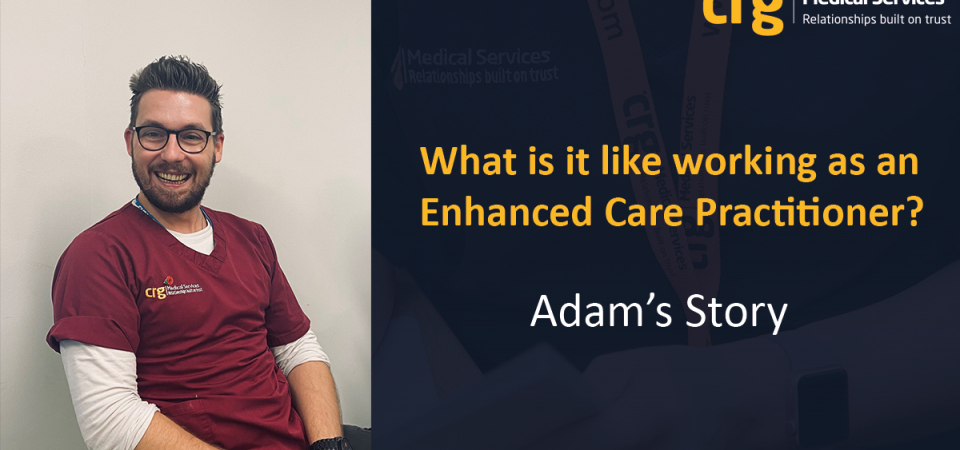 Adam's Story – What is it like working as an Enhanced Care Practitioner in a police custody environment?